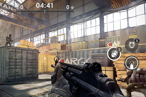 Android Shooter für VERTEX: Warface: Global operations