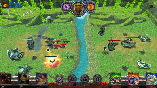 Battlemist: Tower defender. Clash of towers für Android