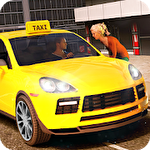 New York taxi driving sim 3D icono