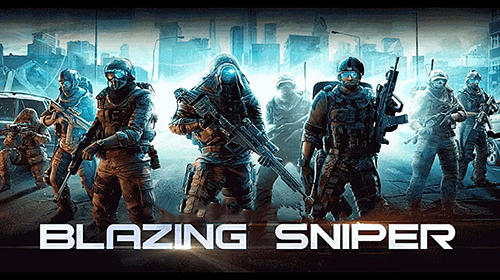 Blazing sniper: Elite killer shoot hunter strike captura de tela 1