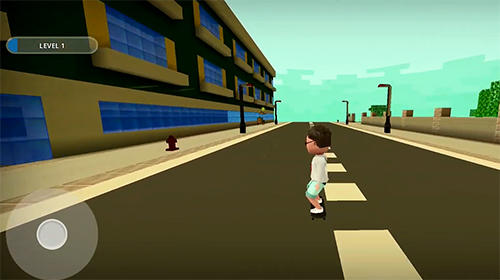 Skate craft: Pro skater in city skateboard games auf Deutsch