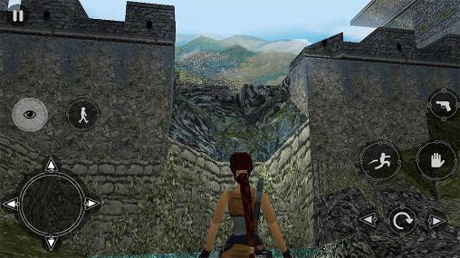 移植された Tomb raider 2 の日本語版