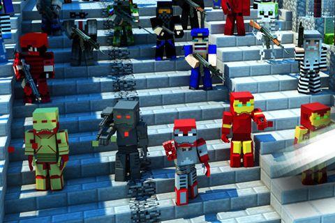 Screenshot Eiserner Würfel Roboter auf dem iPhone