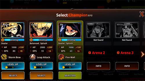 Champions rising: Legends of Elusia Screenshot