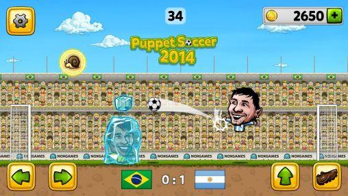 Puppet soccer 2014 capture d'écran 1