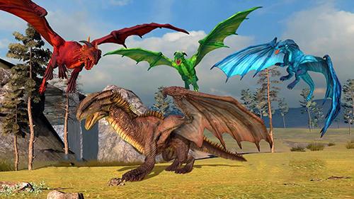 Simulator-Spiele Clan of dragons: Simulator für das Smartphone