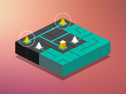 Maze light: Power line puzzle screenshot 4