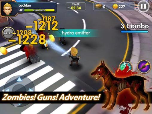 Action Zombie bane für das Smartphone