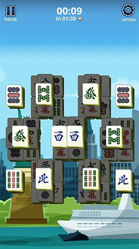 Mahjong solitaire: Country world tours pour Android