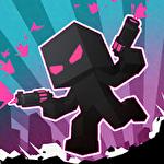 Stickman.io: The warehouse brawl. Pixel cyberpunk Symbol