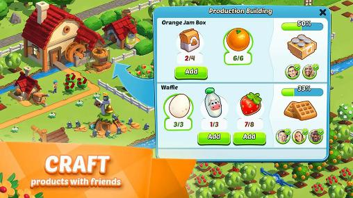Farm games Country friends in English