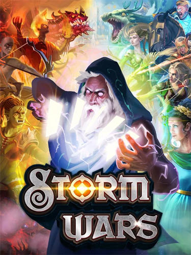 Storm wars CCG screenshot 1