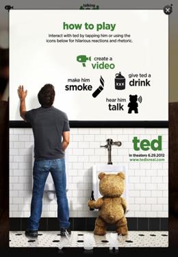 Simulation: Lade Sprechender Ted. Unzensiert auf dein Handy herunter