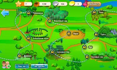 Simulator-Spiele Mushroomers für das Smartphone