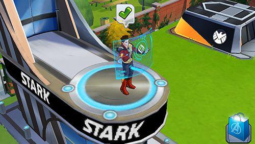 角色扮演游戏:下载MARVEL: Avengers academy到您的手机