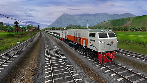 Indonesian train simulator for Android