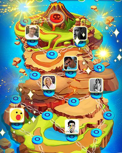 Arcade Angry slime: New original match 3 für das Smartphone
