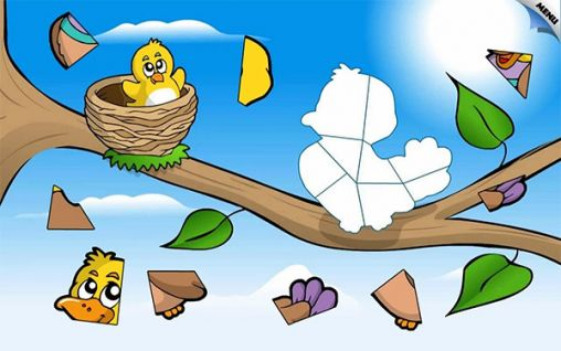Kids animal preschool puzzle l screenshot 1