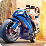 Furious city мoto bike racer Symbol
