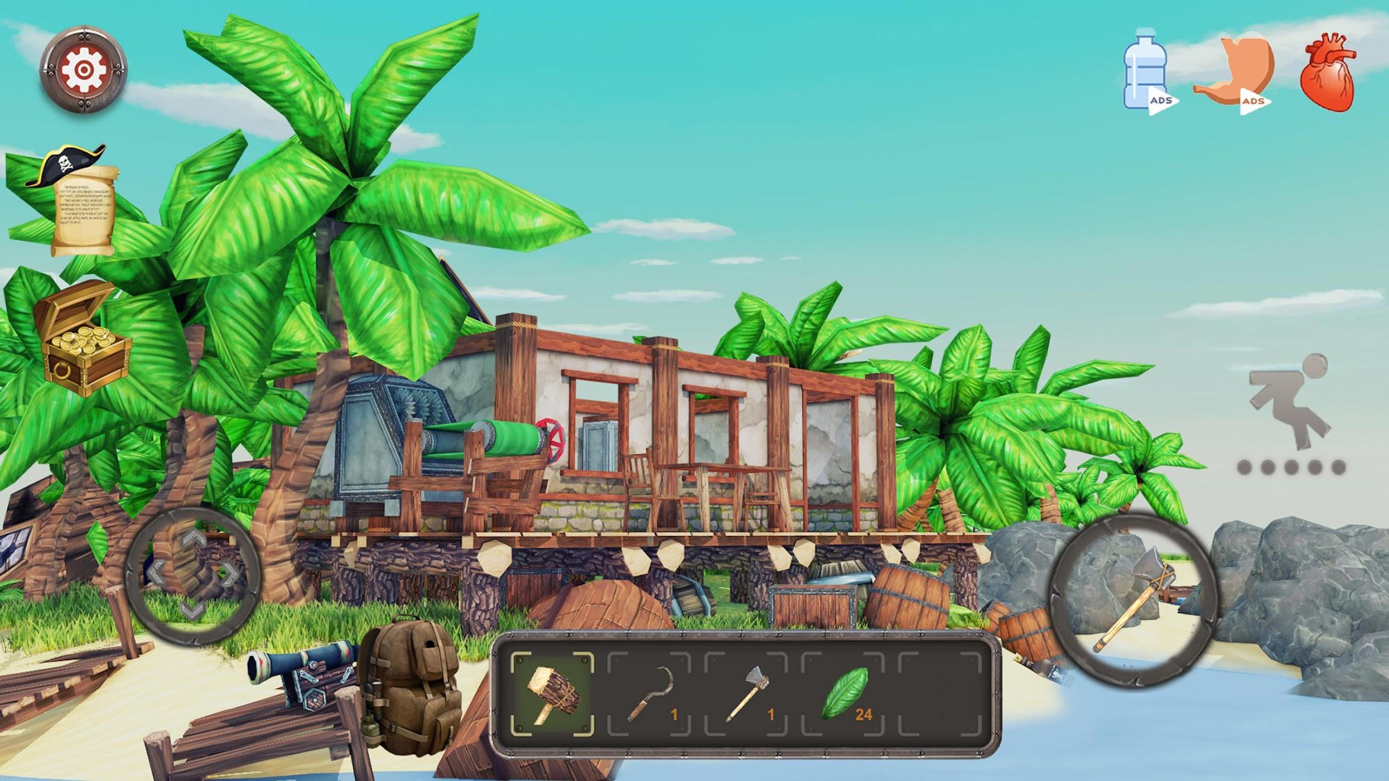 Raft Survival: Lost on Island - Simulator for Android