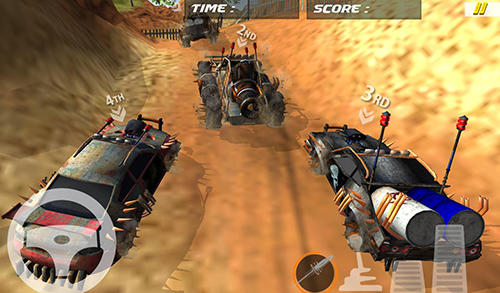 Buggy car race: Death racing for Android