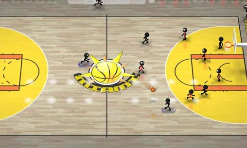 Stickman basketball for Android