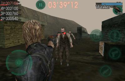 Onlinespiele Resident Evil gegen Söldner auf Deutsch