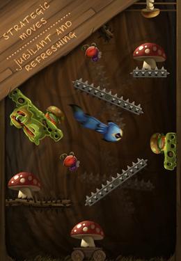 Screenshot Am Baum auf dem iPhone
