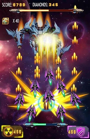 Galaxy wars: Space defense für Android