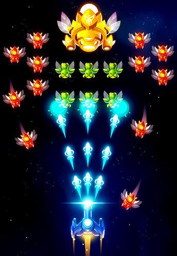 Flying games Star force: Patrol armada in English