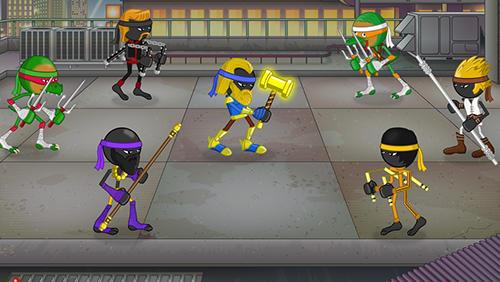 Ninja Stickninja smash! auf Deutsch
