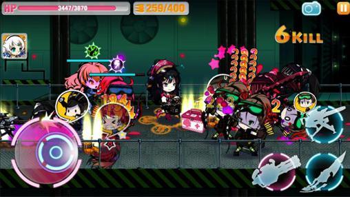 Strategische RPG-Spiele Guns girl: School day Z auf Deutsch