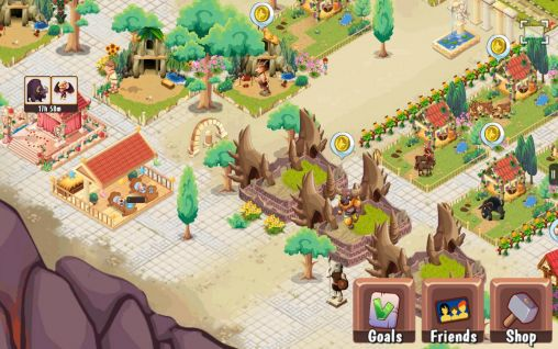 Strategy games Creatures of Olympus for smartphone