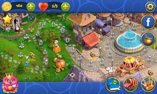 Arcade Miracle: In the world of fairy tales. Match 3 für das Smartphone
