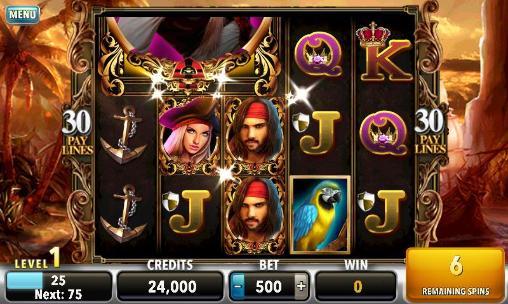 Pirates of the dark seas: Slots für Android