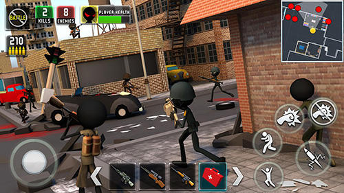 Stickman royale: World war battle für Android