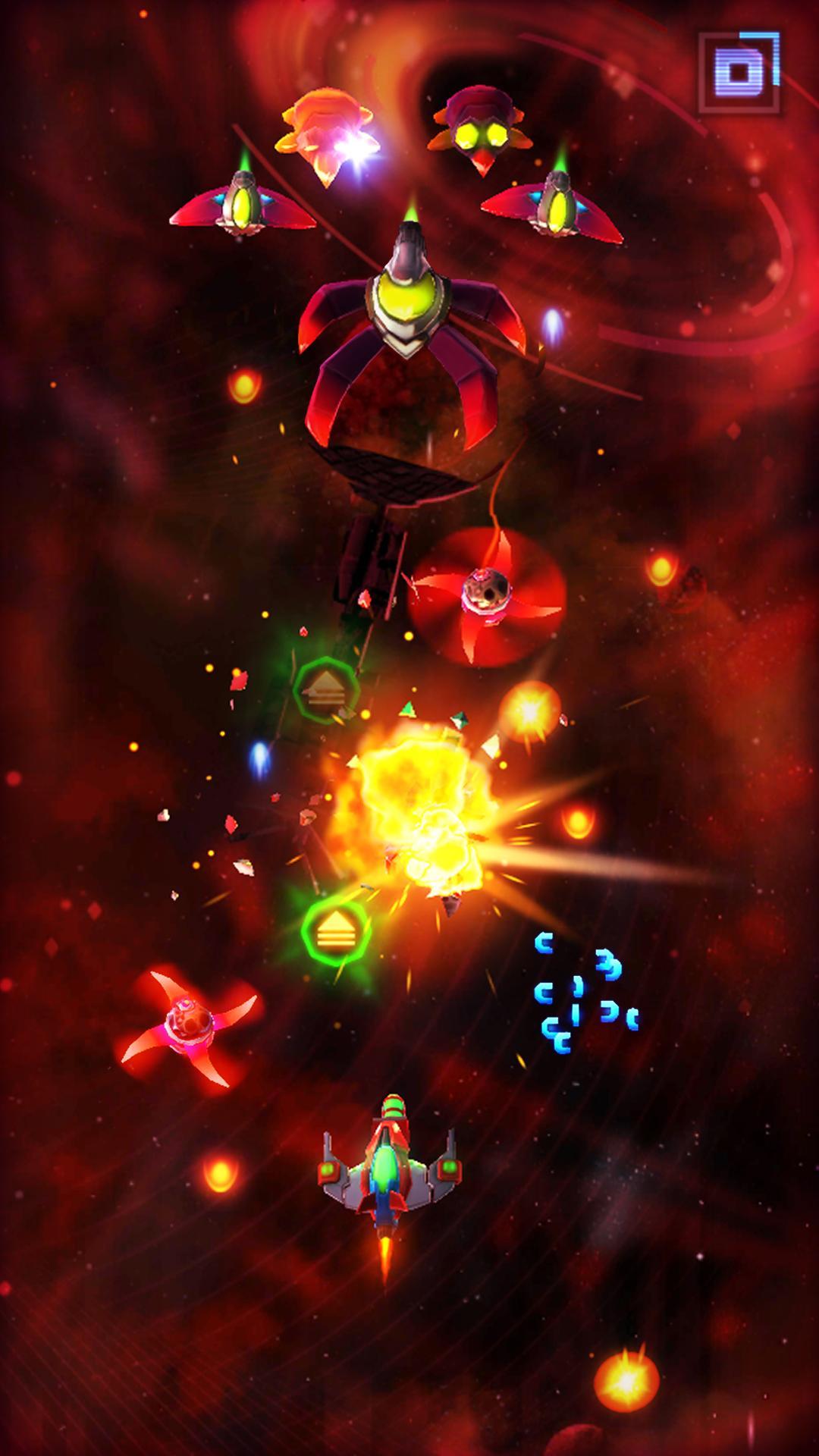 Neonverse Invaders Shoot 'Em Up: Galaxy Shooter screenshot 1
