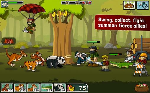 Lumberwhack: Defend the wild for Android