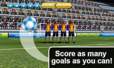 Simulation games Soccer Free Kicks for smartphone