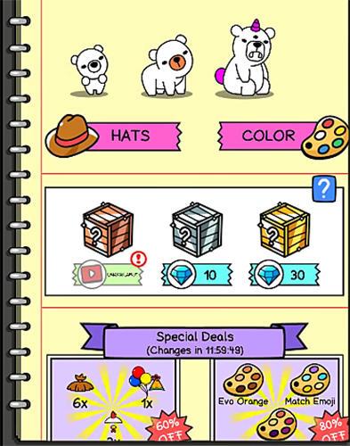 Bear evolution: UnBEARably fun clicker game für Android