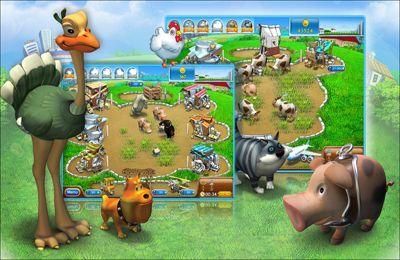Simulator-Spiele: Lade Lustiger Bauernhof 2: Pizza Party HD auf dein Handy herunter