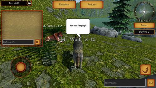 Wolf simulator evolution скриншот 1