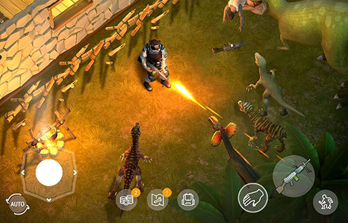 Jurassic survival for Android