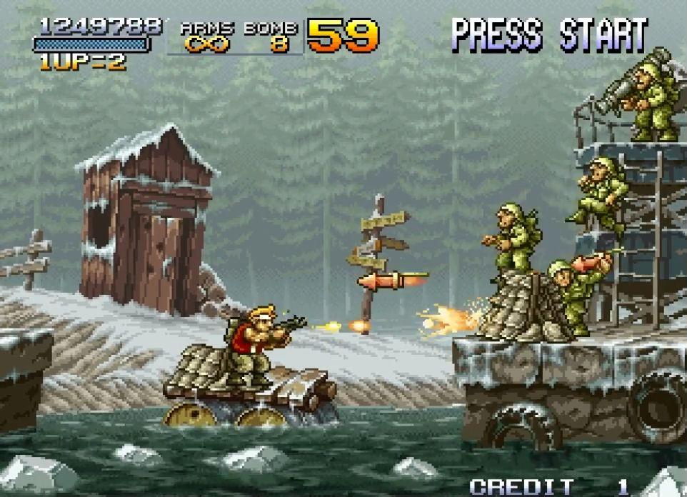 Metal Slug II captura de pantalla 1