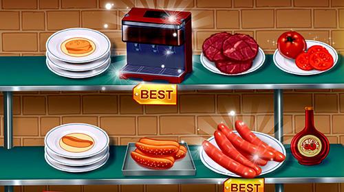 Kitchen craze: Master chef cooking game скриншот 1