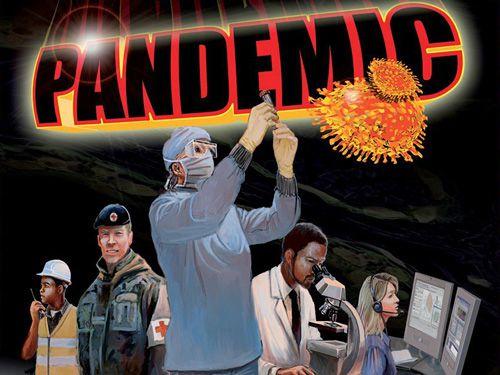 logo Pandemia: Juego de mesa