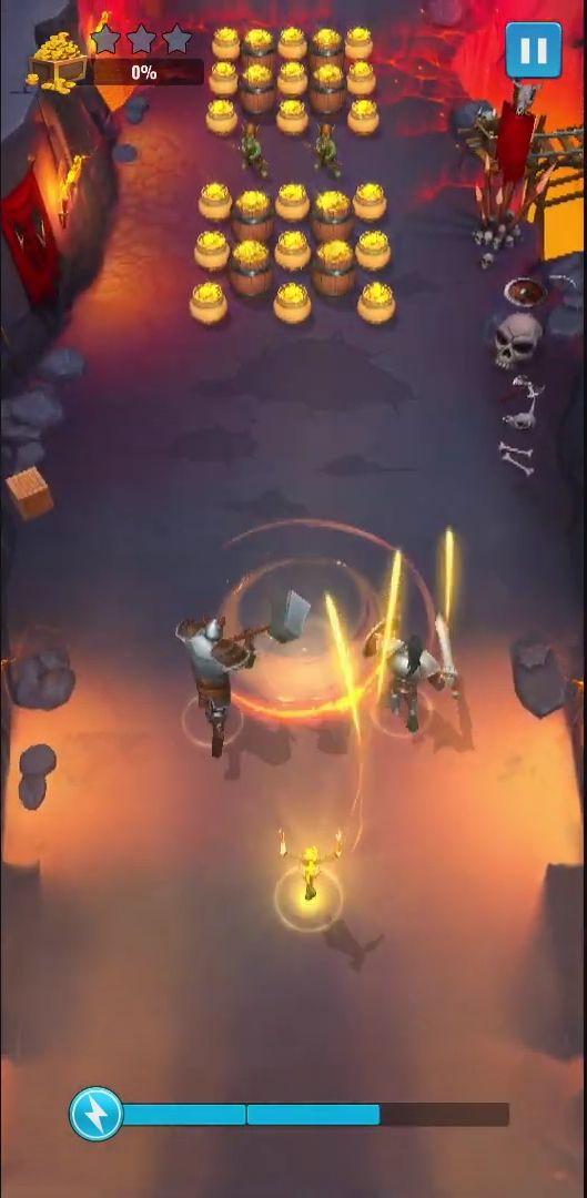 Raid and Rush captura de tela 1