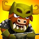 Brawl of heroes: Online 2D shooter icon