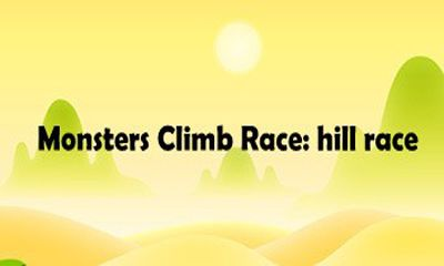 Monsters Climb Race: hill race icono