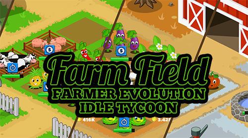 Farm field: Farmer evolution idle tycoon captura de pantalla 1
